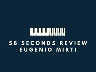 Spedicato Andrioli Sylvian 58 seconds review eugenio mirti