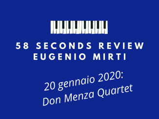The Rose Don Menza Quartet 58 seconds review Mirti