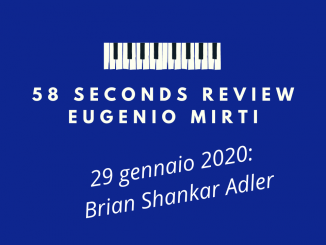 Brian Shankar Adler 58 seconds review 4th dimension