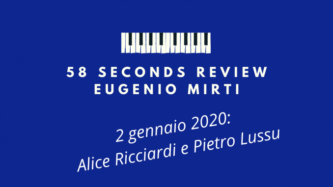 58 seconds review ricciardi lussu Catch Falling Star