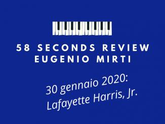 58 seconds review Lafayette Harris Savant Eugenio Mirti
