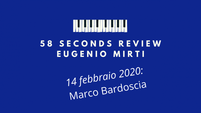 58 seconds review Marco Bardoscia The Future Is A Tree