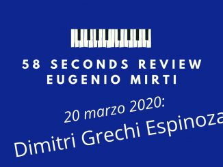 58 seconds review Dimitri Grechi Espinoza Spiritual Way