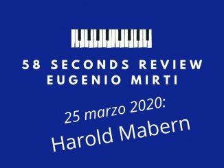 58 seconds review mabern plays mabern eugenio mirti