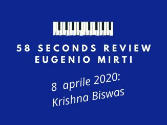 58 seconds review Krishna Biswas Maggese Eugenio Mirti