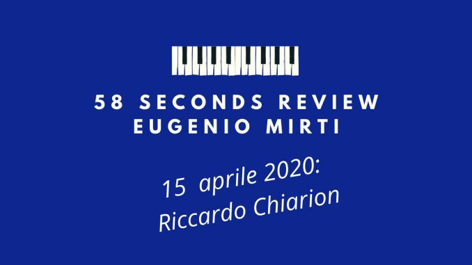 58 seconds review Riccardo Chiarion Quiet Stories