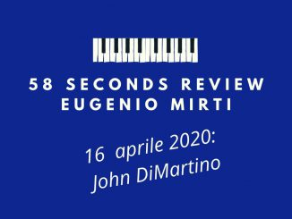 John DiMartino 58 seconds review Eugenio Mirti Passion Flower