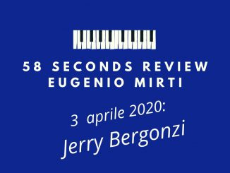58 seconds review Jerry Bergonzi Savant Eugenio Mirti