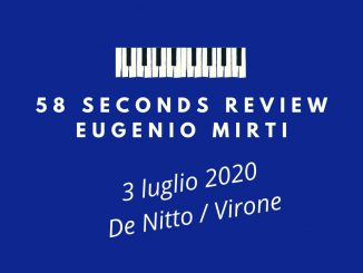 De Nitto Virone Footsteps 58 seconds review Eugenio Mirti